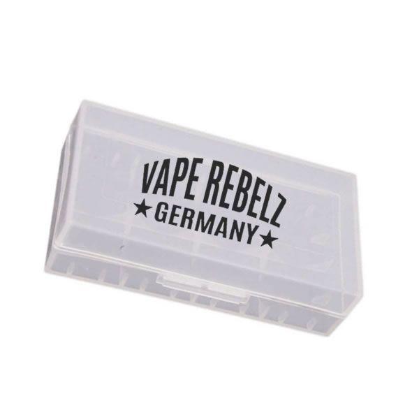 Transportbox für 2x 18650 Akkumulatoren von Vape Rebelz
