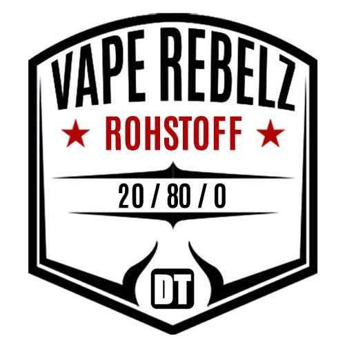 Rohstoff 20:80:0 / BaseShot / by Vape Rebelz® 3mg Set - 200ml