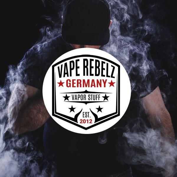 Outdoor Aufkleber Vape Rebelz [ 9.5 cm Ø ]