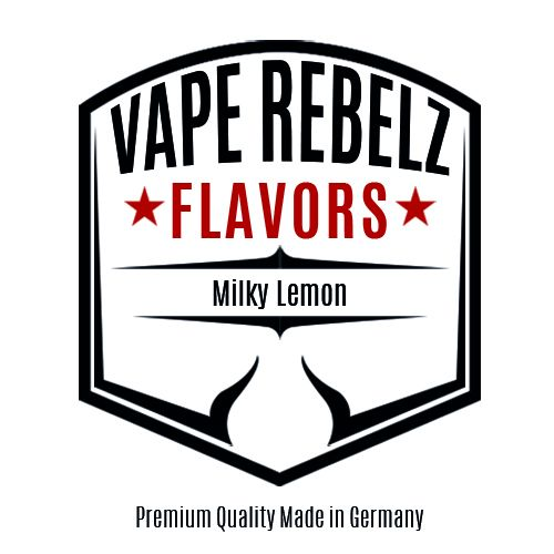 Milky Lemon Flavour | Aroma von Vape Rebelz®
