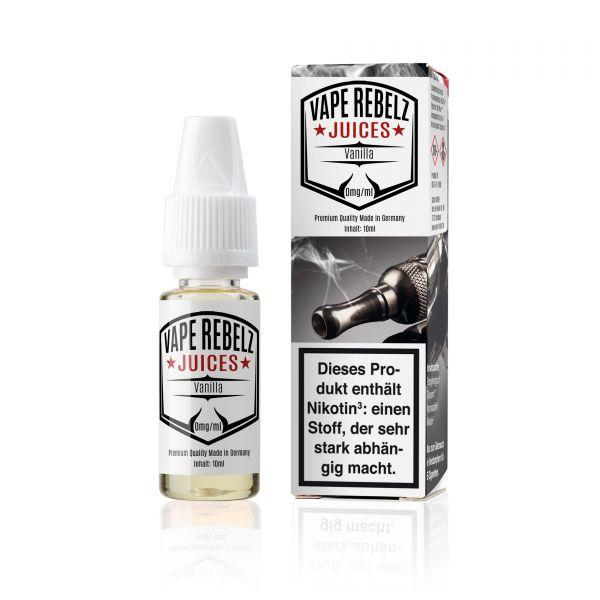 Vanilla Juice   Liquid von Vape Rebelz® - 10ml