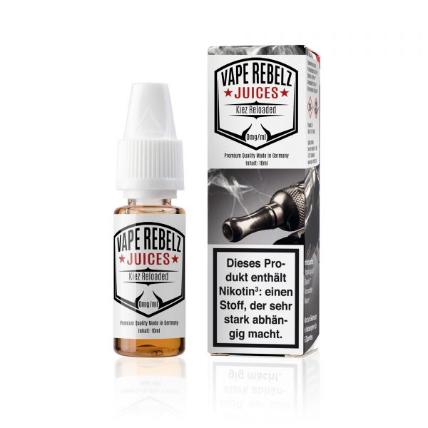 Kiez Reloaded Juice | Liquid von Vape Rebelz® - 10ml
