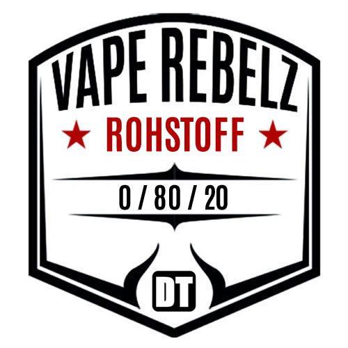 Rohstoff 0:80:20 / BaseShot / by Vape Rebelz® 6mg Set - 200ml