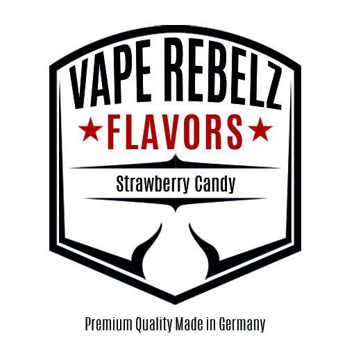 Strawberry Candy Flavour   Aroma von Vape Rebelz®
