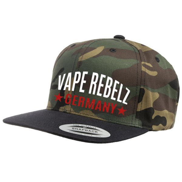 Vape Rebelz Flexfit Camo Cap 2-Tone [SNAPBACK]