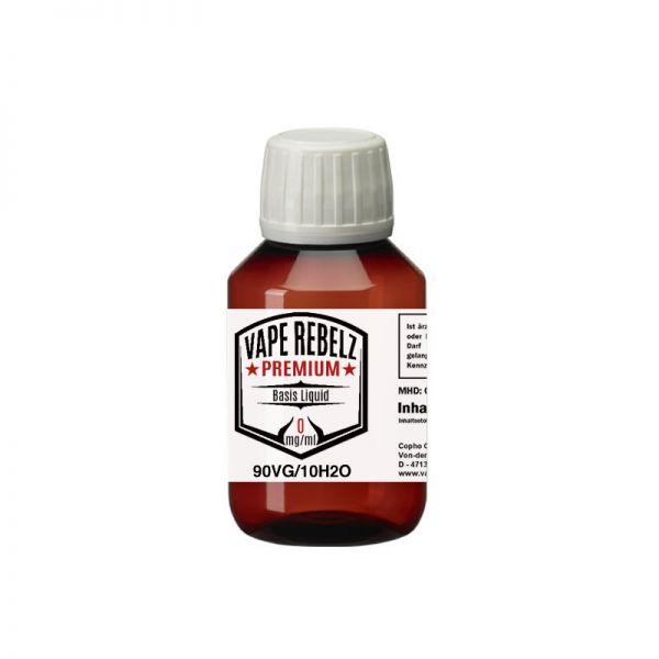 Glycerin / H2O (0:90:10) Basis Liquid by Vape Rebelz® 100ml