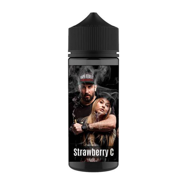 Strawberry Cream Vape Rebelz® Longfill   Aroma - 10 / 120ml